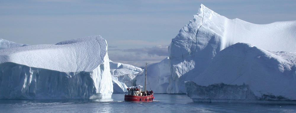 Off coastal Greenland